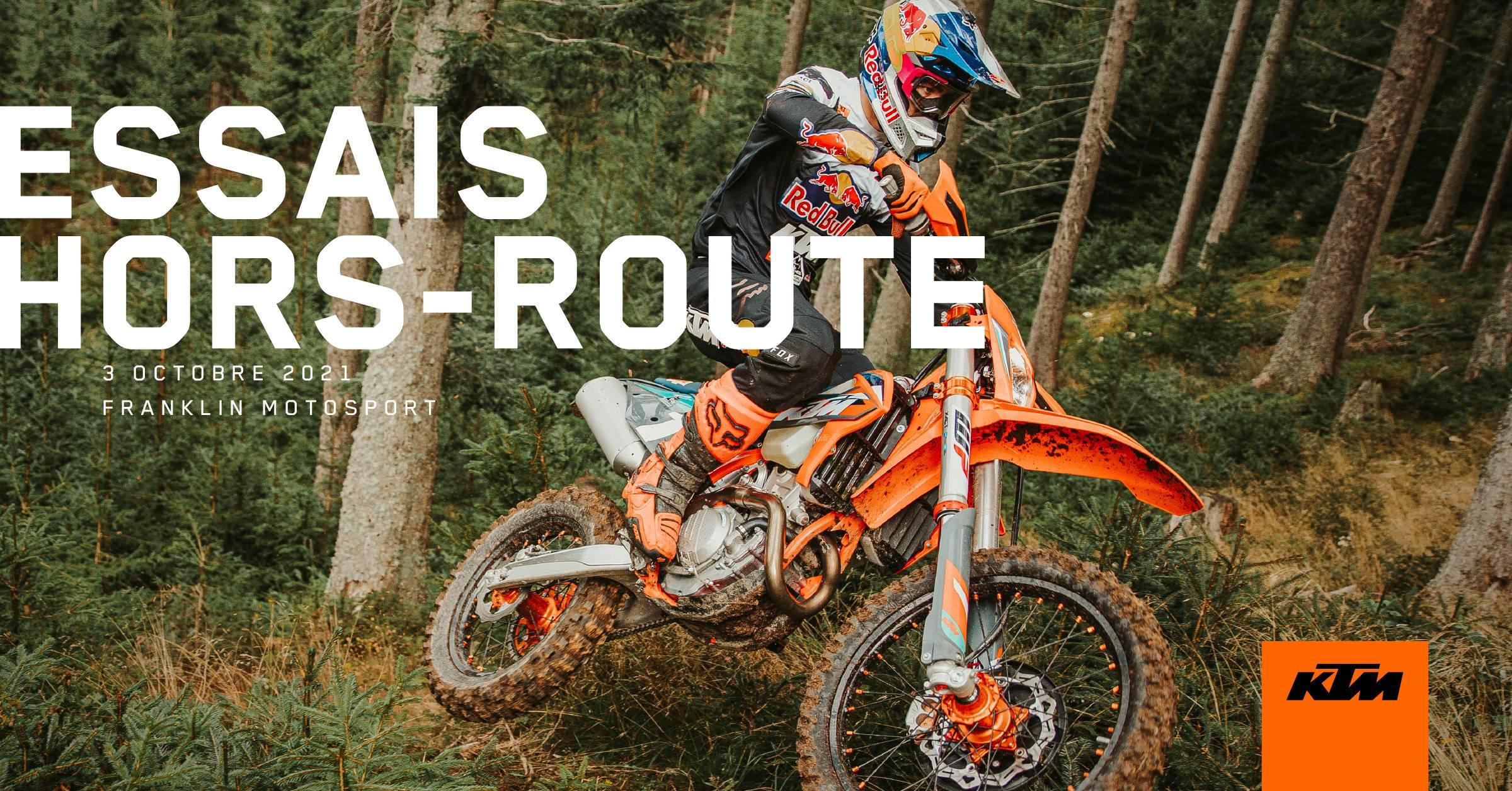 3 octobre 2021 - Essais hors-route KTM