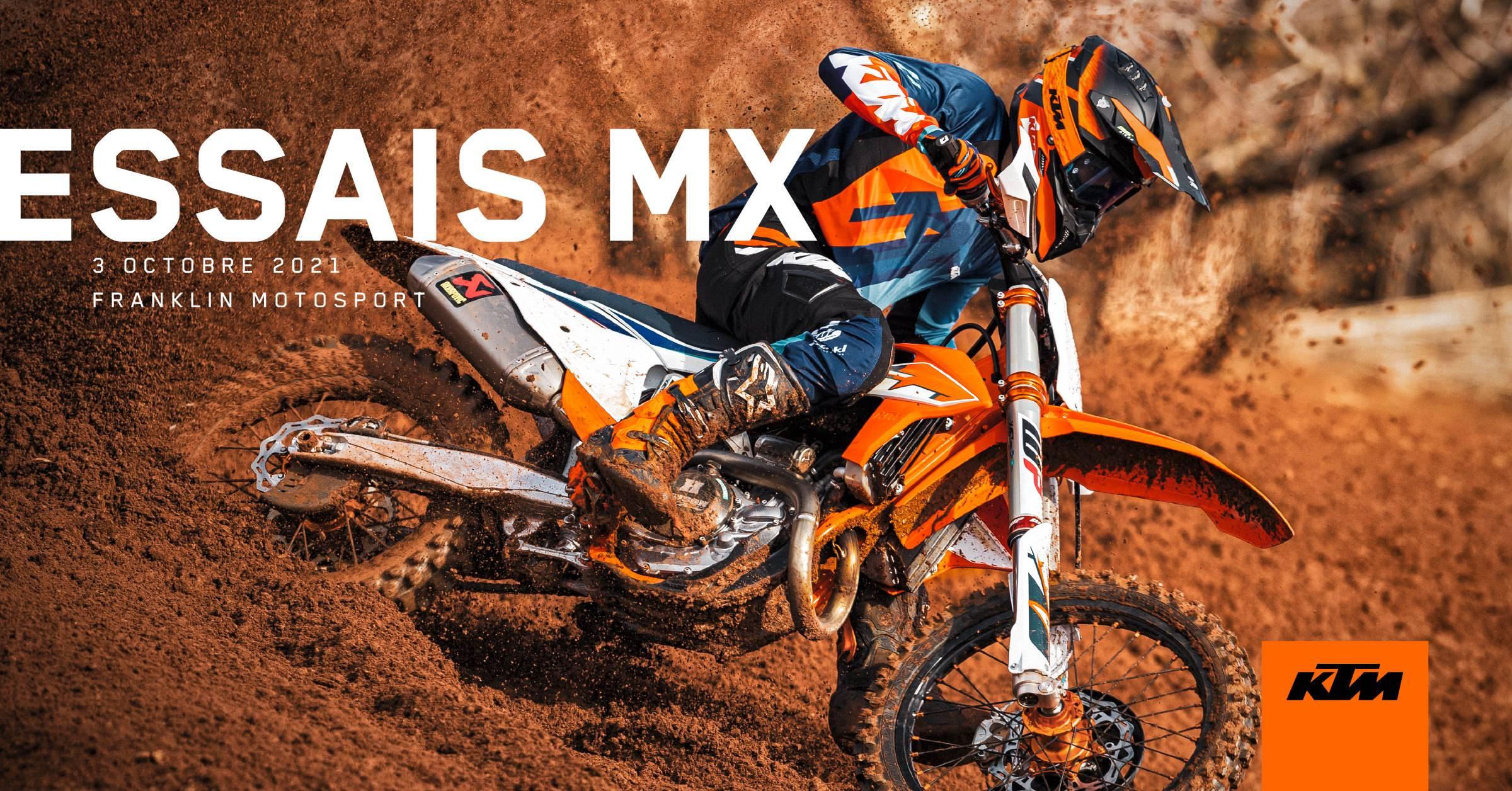 3 octobre 2021 - Essais MX KTM