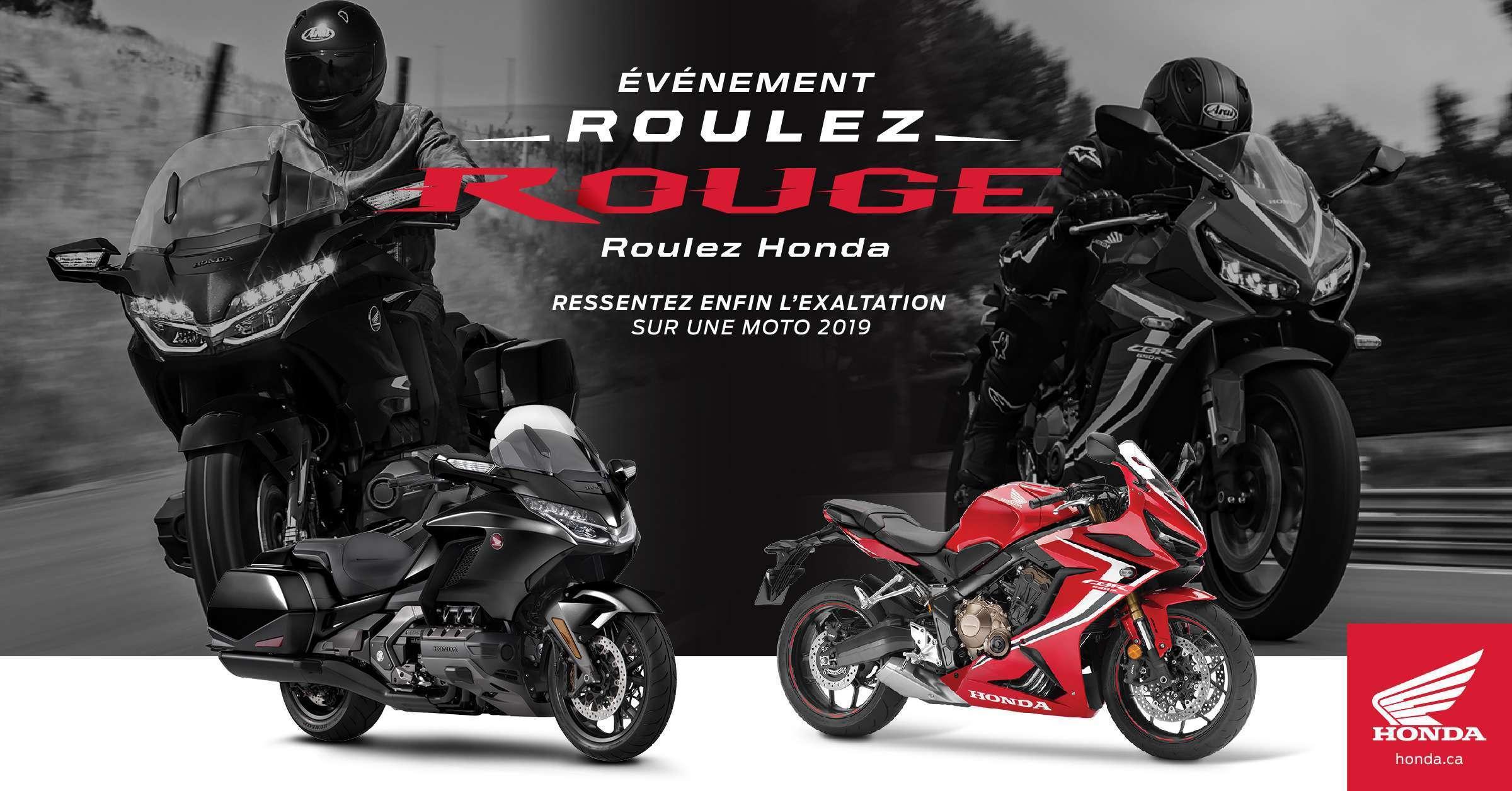 L'événement Roulez rouge Roulez Honda est en cours !