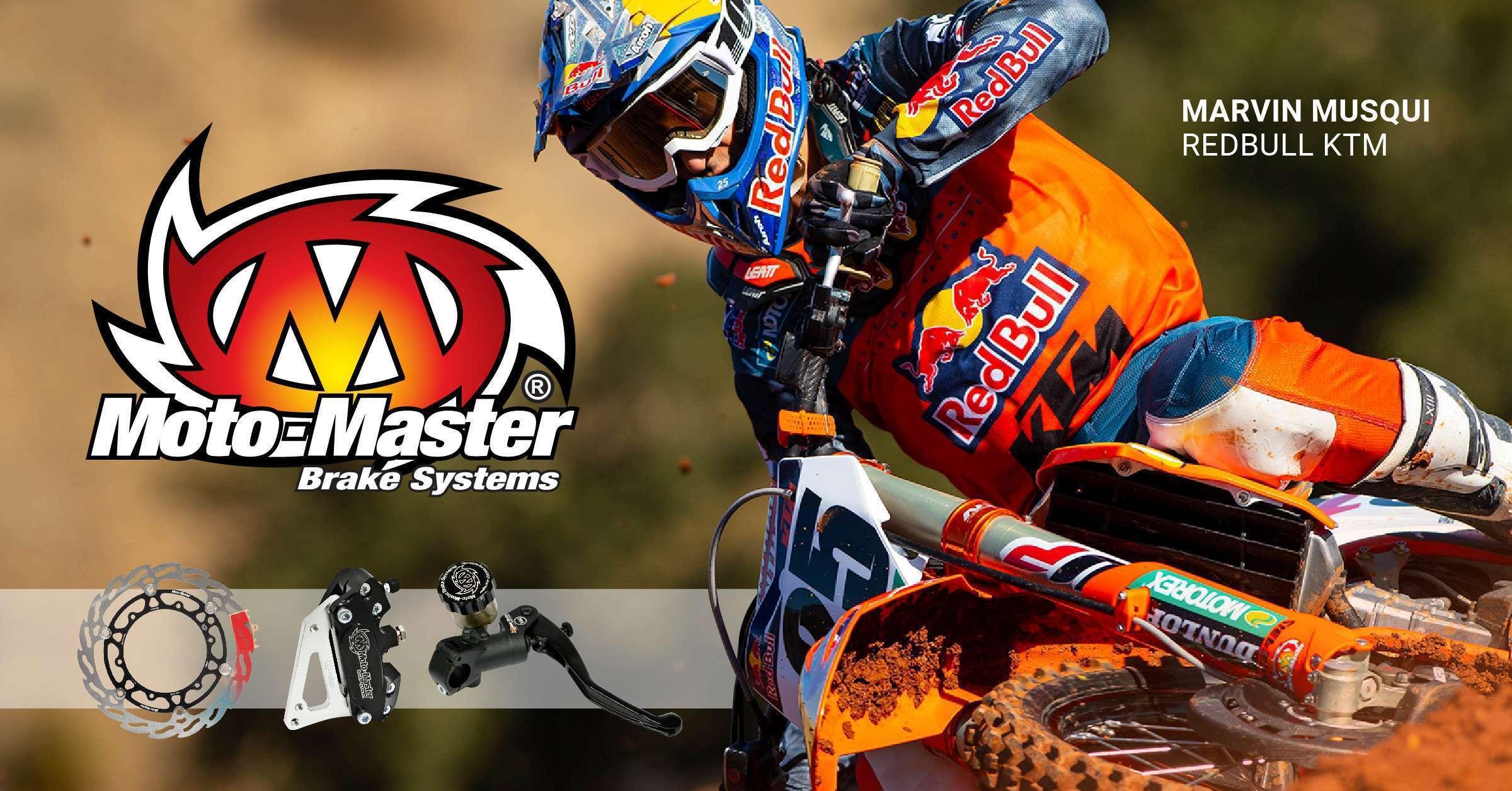 Mathias Sports, distributeur exclusif au Canada des systèmes de freinage Moto-Master !
