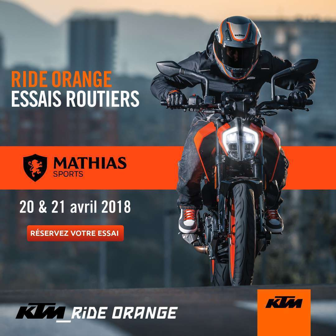 20/21 avril : essais KTM