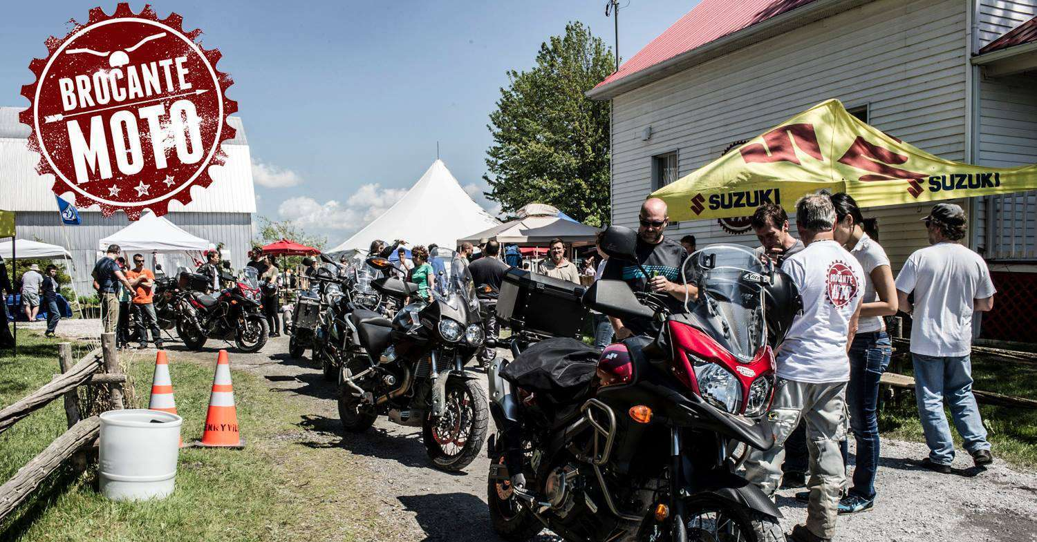 Mathias Sports sera de la Brocante Moto