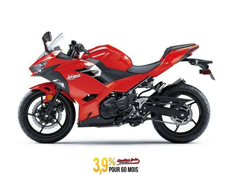 MSU-2020EX400GLF Neuf Kawasaki NINJA 400 ABS Rouge Passion 2020 a vendre 1