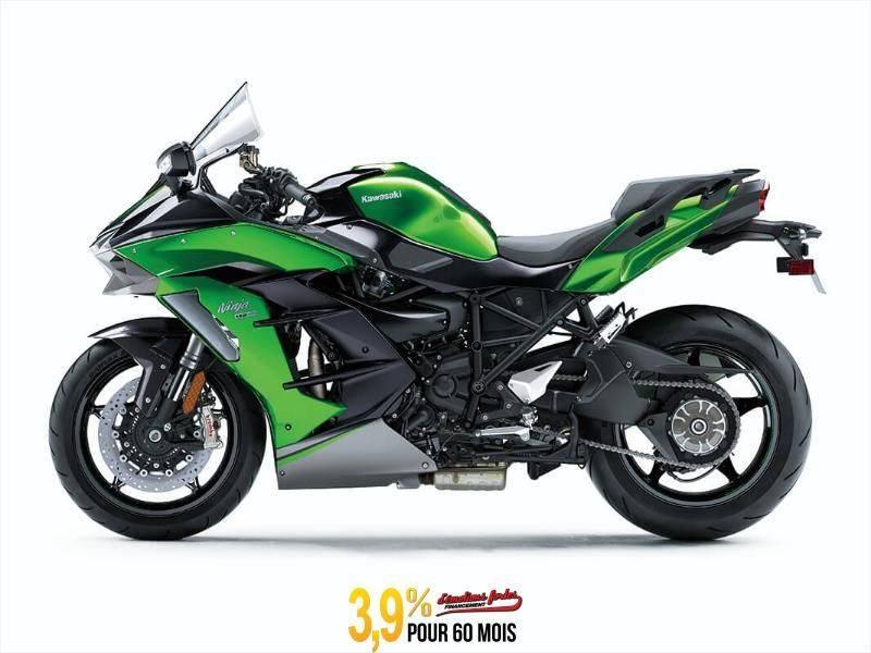 MSU-2020ZX1002DLF Neuf Kawasaki NINJA H2 SX SE+ - VERT/ NOIR 2020 a vendre 1