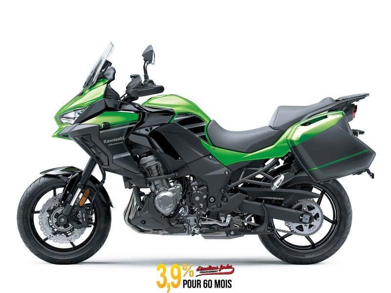 MSU-2020KLZ1000CLF Neuf Kawasaki VERSYS 1000 ABS LT - VERT LIME/ NOIR  2020 a vendre 1