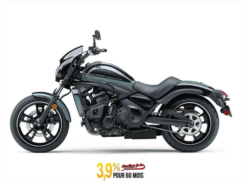 MSU-2020EN650ELF Neuf Kawasaki VULCAN S ABS CAFE - BLEU RÉTRO/ÉBÈNE 2020 a vendre 1