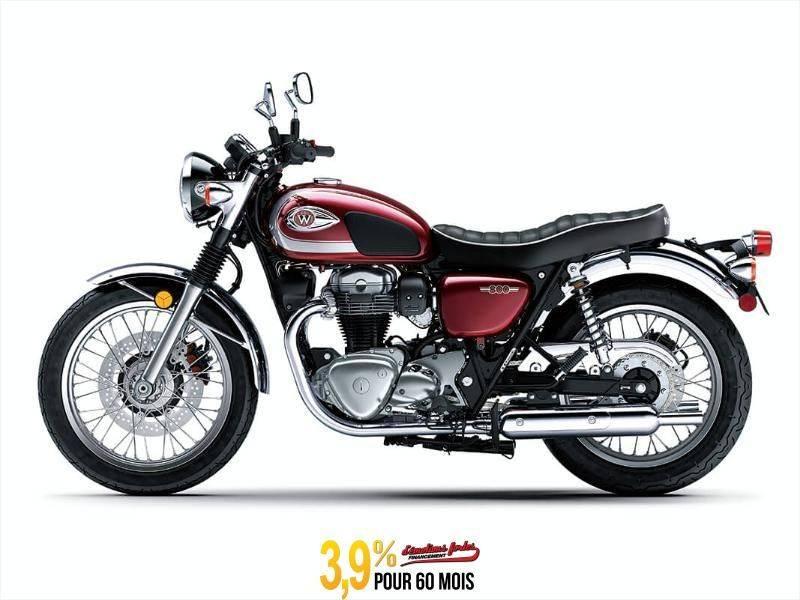 MSU-2020EJ800DLF Neuf Kawasaki W800 - ROUGE CARDINAL 2020 a vendre 1
