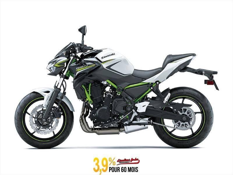 MSU-2020ER650KLFA Neuf Kawasaki Z650 ABS - BLANC/ NOIR 2020 a vendre 1