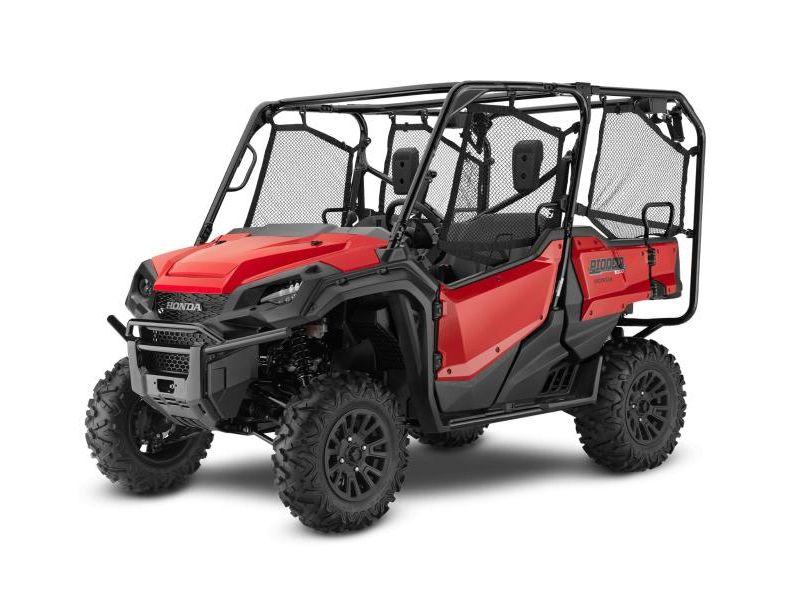 MSU-2021SXS1000M5D Neuf HONDA Pioneer 1000-5 EPS Deluxe Rouge patriote 2021 a vendre 1