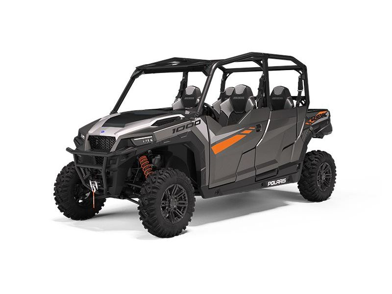MSU-2021G21G4P99AM Neuf POLARIS GENERAL 4 1000 Premium Titanium Metallic 2021 a vendre 1