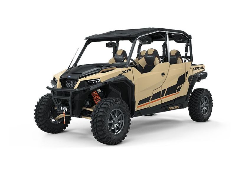 MSU-2021G21GMD99AZ Neuf POLARIS GENERAL XP 4 1000 Deluxe Matte Military Tan 2021 a vendre 1