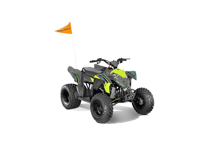 MSU-2021A21YAK11B6 Neuf POLARIS Outlaw 110 EFI Avalanche Gray/Lime Squeeze 2021 a vendre 1