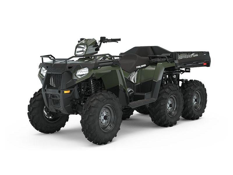 MSU-2021A21S6E57A1 Neuf POLARIS Sportsman 6x6 570 Sage Green 2021 a vendre 1