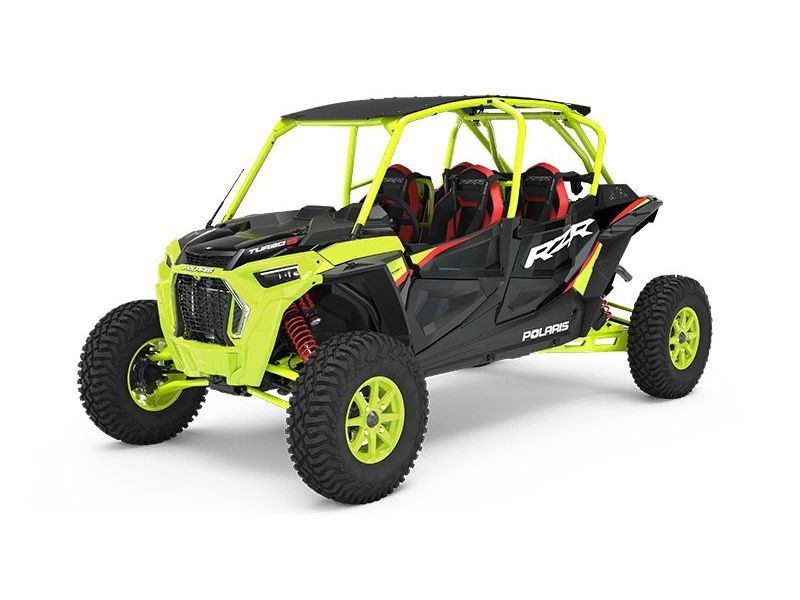MSU-2021Z21P4L92AT Neuf POLARIS RZR Turbo S 4 Lifted Lime LE 2021 a vendre 1
