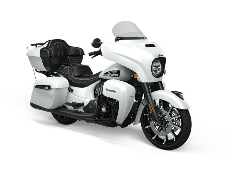 MSU-2021N21TKDBBCW Neuf INDIAN Roadmaster Dark Horse White Smoke (ABS) 2021 a vendre 1