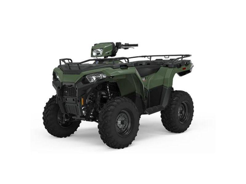 MSU-2021A21SEG50A1 Neuf POLARIS Sportsman 450 H.O. Utility Sage Green 2021 a vendre 1
