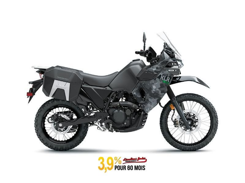 MSU-2022KL650HNFA Neuf KAWASAKI KLR650 ADVENTURE GRIS CAMOUFLAGE CODÉ 2022 a vendre 1