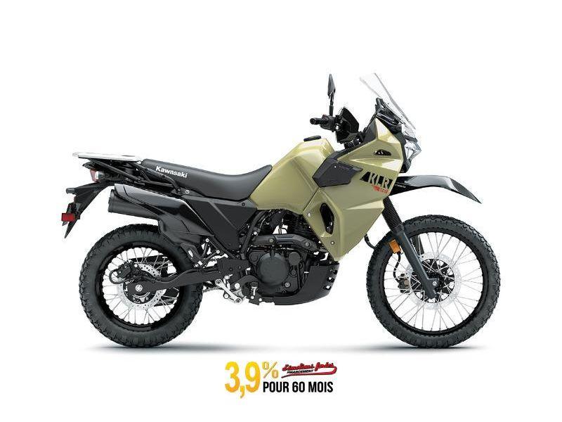 MSU-2022KL650FNFN Neuf KAWASAKI KLR650 ABS KAKI SABLE NOUVEAU  2022 a vendre 1