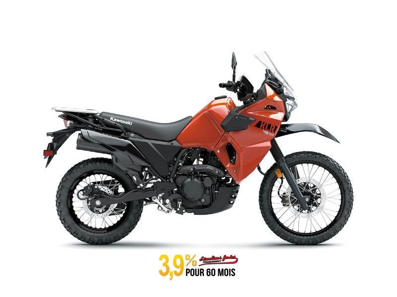 MSU-2022KL650FNFNO Neuf KAWASAKI KLR650 ABS ORANGE LAVE PERLE 2022 a vendre 1