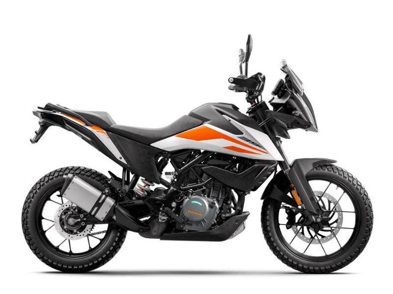 MSU-2021F5375U5 Neuf KTM 390 ADVENTURE BLANC 2021 a vendre 1