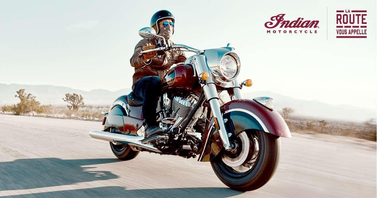 Notre gamme Indian Motorcycle à l'essai le 18 mai