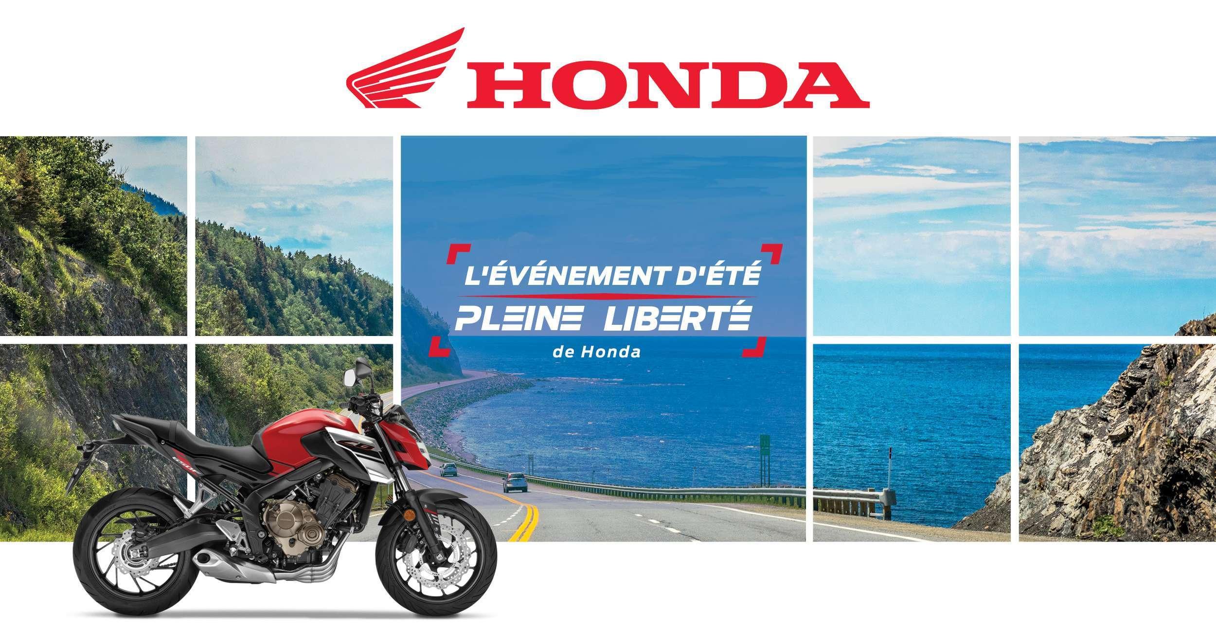 """L'évènement d'été """"Pleine liberté"""" de Honda se prolonge"""