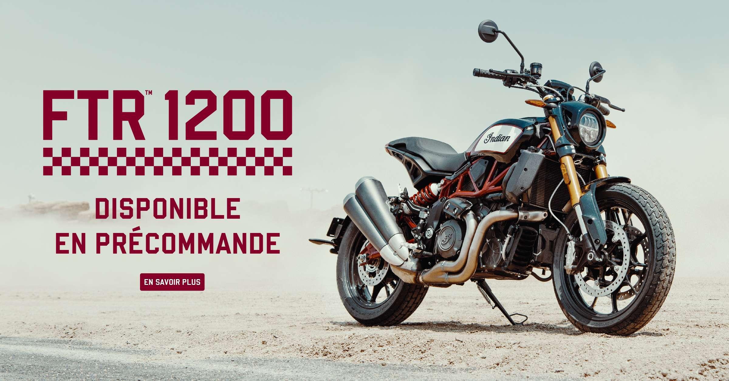 FTR 1200 d'Indian Motorcycle: une pure merveille