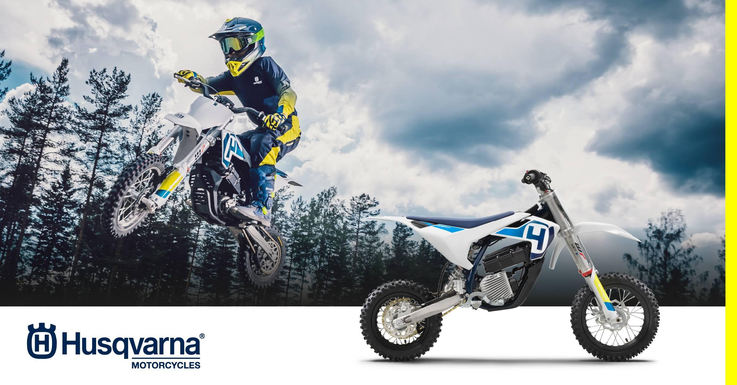 Husqvarna présente son 1er motocross mini électrique
