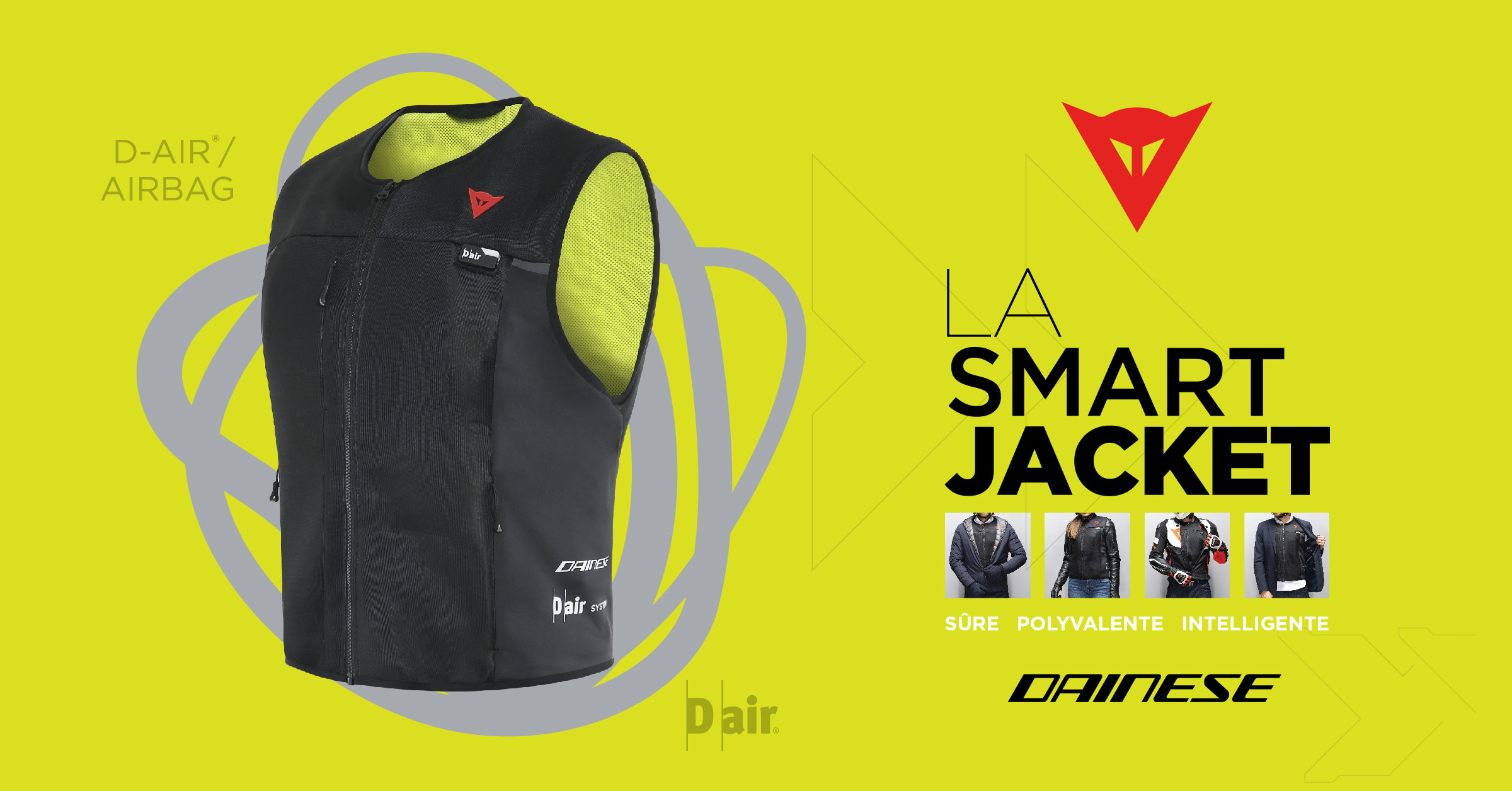 Dainese présente: la Smart Jacket