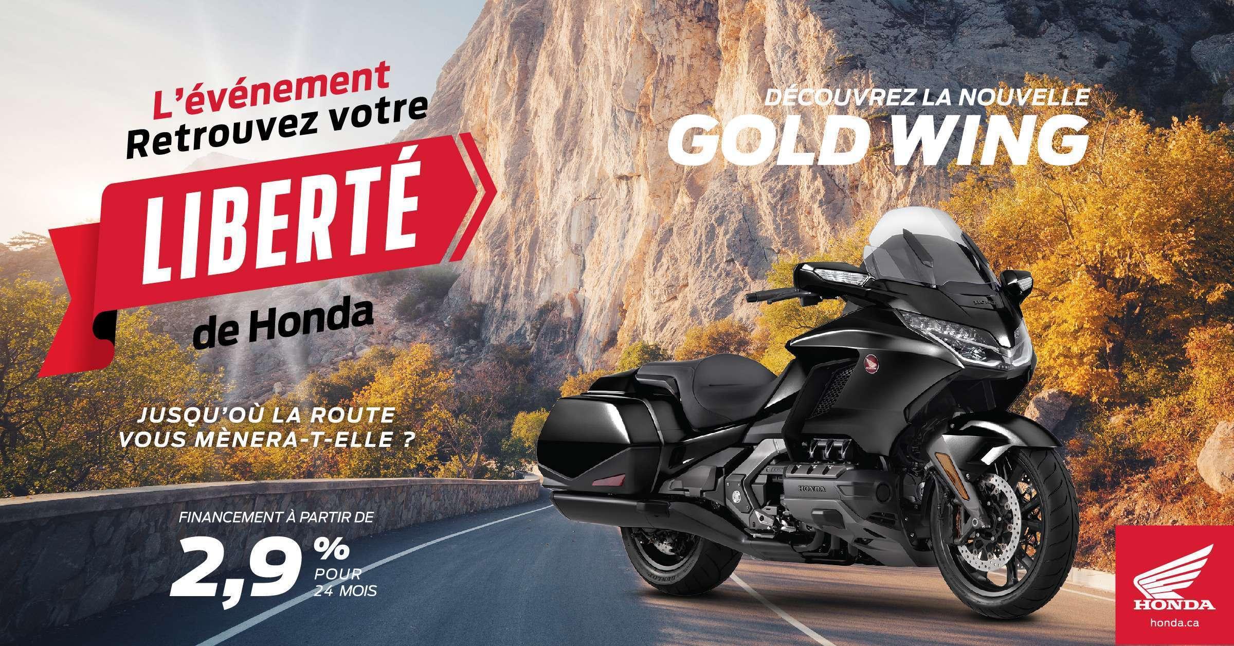 Offrez-vous l'aventure avec l'événement Retrouvez votre liberté de Honda