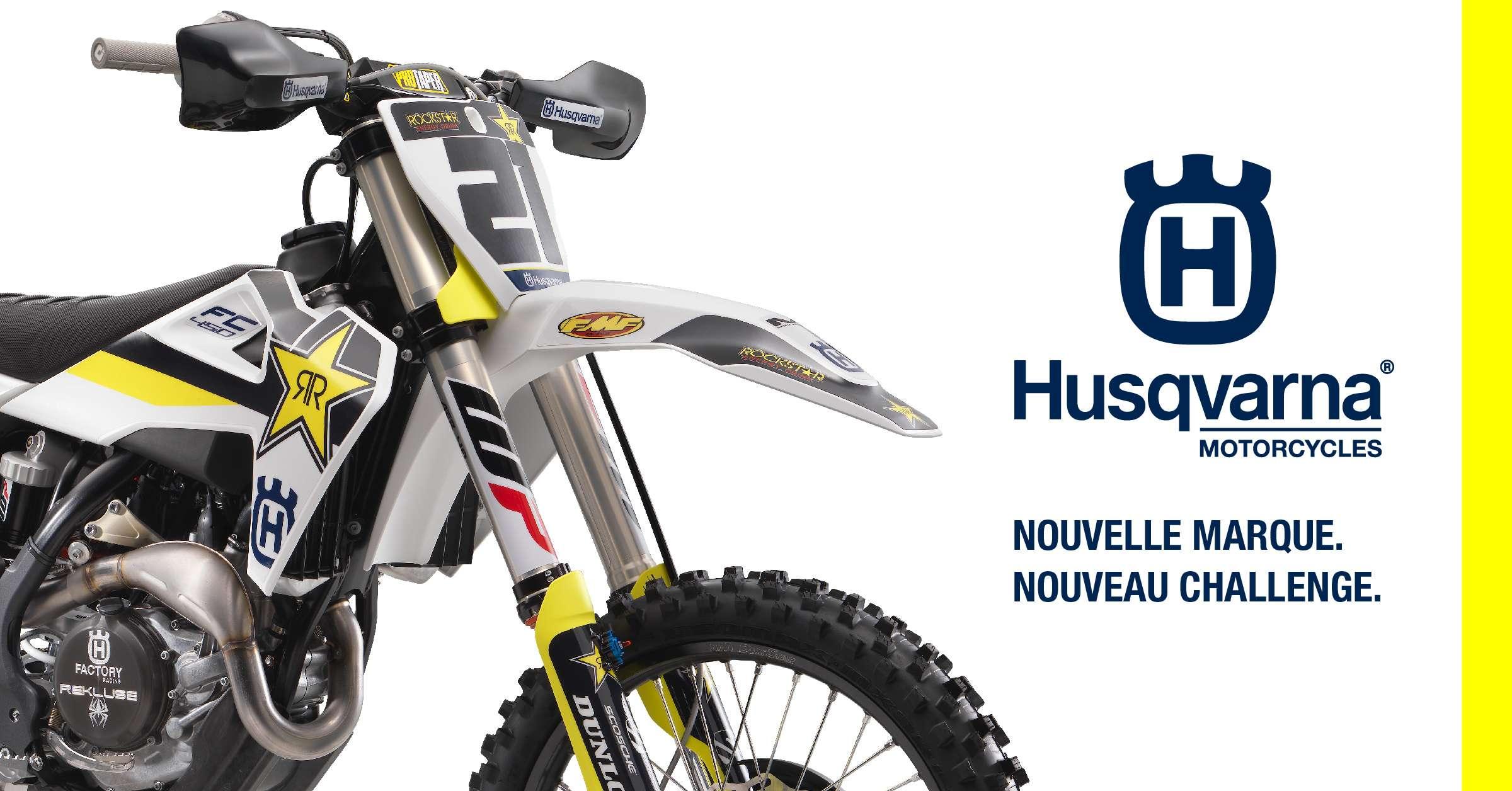 Nous accueillons avec fierté une nouvelle marque: Husqvarna
